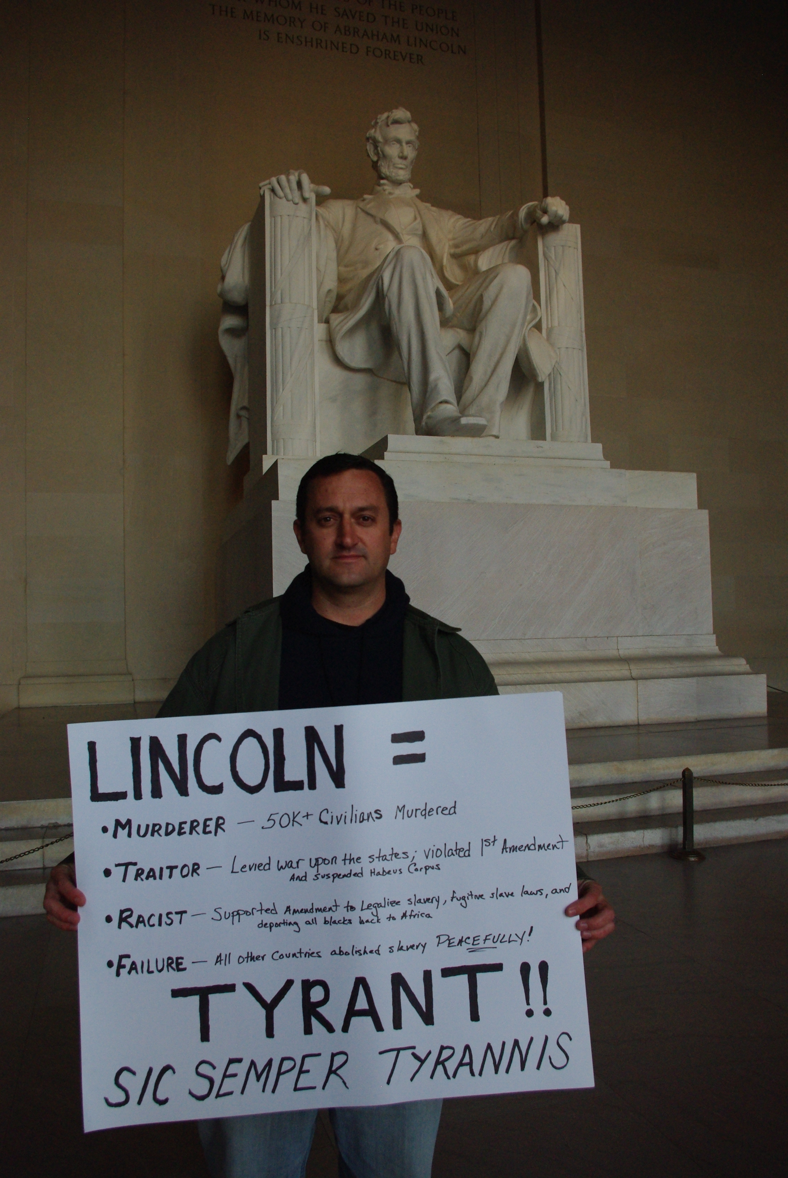 Saying Quot Lincoln Was A Tyrant Quot Got Me Kicked Out Fun Political Survey